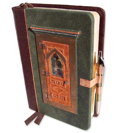 Bible with Hinged Door-1