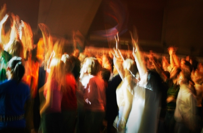 Group at a concert